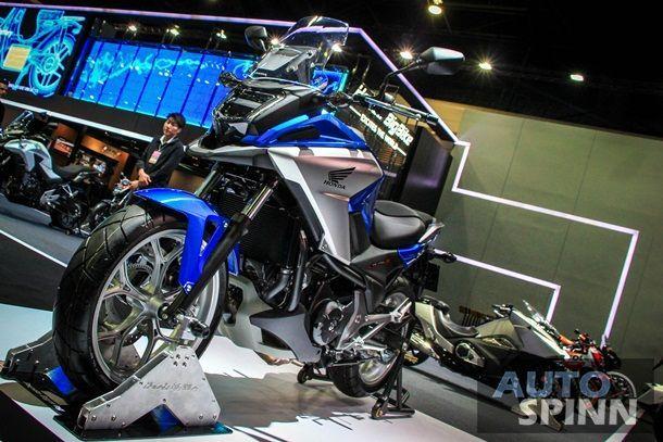 [BIMS2016] 2016 Honda NC750X โฉบเฉี่ยวเปรี้ยวหัวจรดท้ายราคาเริ่ม 3.44 แสนบาทเท่านั้น
