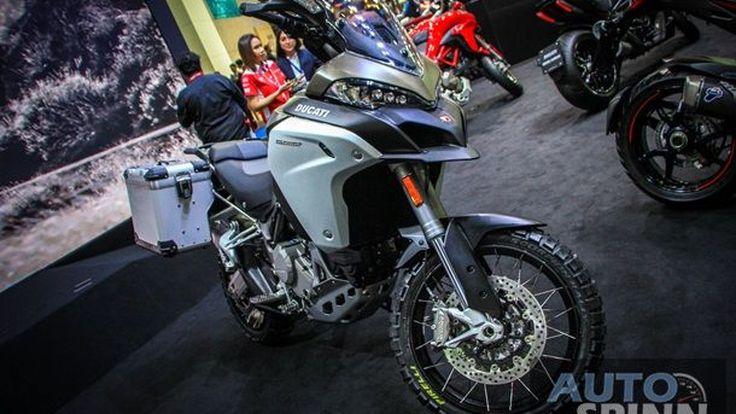 [BIMS2016] Ducati Multistrada1200Enduro ตัวลุยบิ๊กไซส์จากค่ายแดงดุเขาไม่ได้มาขู่เฉยๆ