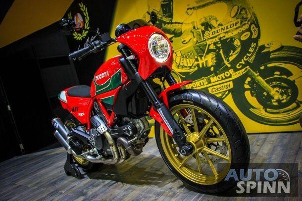 [BIMS2016] Ducati Scrambler Mike Hailwood ลิมิเต็ดระดับตำนานที่มีให้เล่าขานเพียง 58 คัน