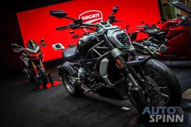 [BIMS2016] เคาะราคา Ducati XDiavel และ Multistrada1200 Pikes Peak เริ่มต่ำกว่าล้าน