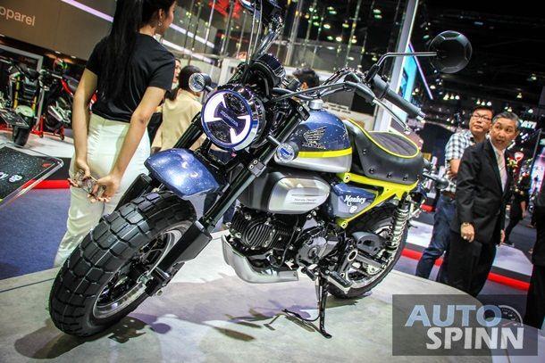 [BIMS2016] Honda Monkey Concept ปลุกตำนานมินิไบค์ตัวจี๊ดแค่เห็นก็กรี๊ดแล้ว