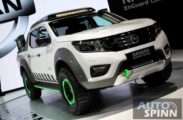[TIME2016] Nissan อวดโฉม Navara Enguard Concept คอนเซปต์กระบะกู้ภัย ภายในงาน Motor Expo 2016