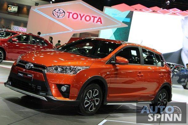 [BIMS2016] Toyota Yaris TRD Spotivo รุ่นพิเศษ แต่งเพิ่มเติมเสริมความหล่อ พร้อมเคาะราคาที่ 6.49 แสนบาท