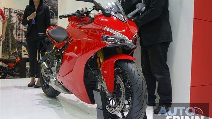 [BIMS2016] Ducati Super Sport S สปอร์ตทัวริ่งสายซิ่งสีแดง เปิดจองแล้วแต่ราคารอกลางปี