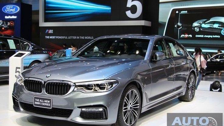 [BIMS2017] All New BMW 530i M Sport โฉมใหม่ หรูหราไฉไล เคาะค่าตัว 4.399 ล้านบาท