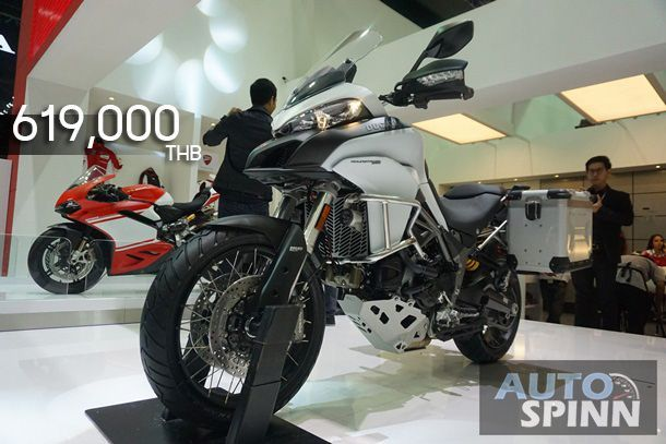 [BIMS2017] Ducati Multistrada950 แอดเวนเจอร์คอมแพ็คสูบแอล-ทวิน