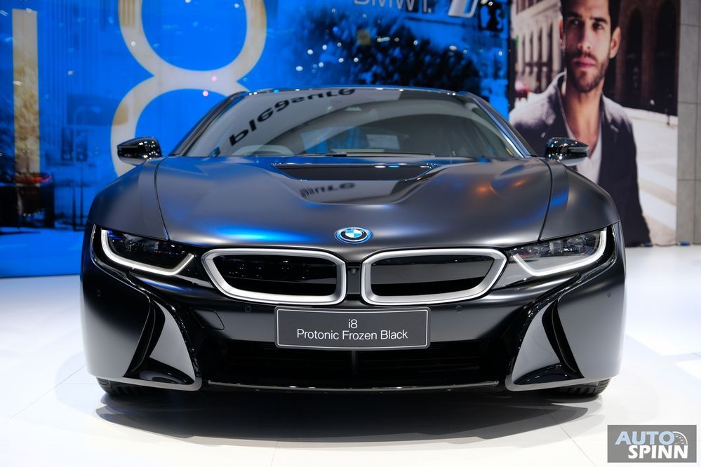 [BIMS2018] พาชม BMW i8 กับสี Protonic Frozen Black