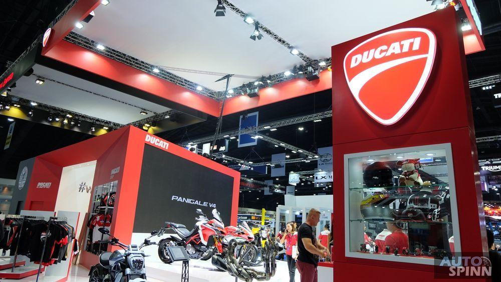 [BIMS2018] Ducati ปีนี้ยกพลมาเพียบ ทั้ง New Monster 821 Scrambler 1100 รุ่นใหญ่อย่าง Multistrada 1260S