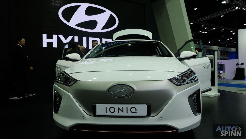 [BIMS2018] Hyundai IONIQ electric Hatchback ขุมพลังไฟฟ้ากับค่าตัว 1.749 ล้านบาท