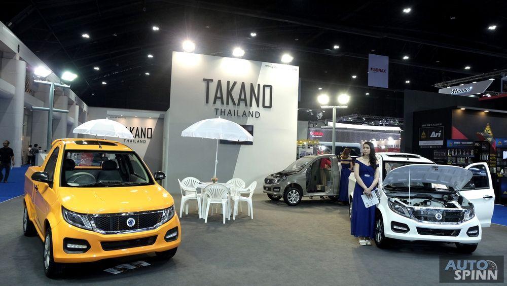 [BIMS2018] Takano นำรถกระบะไฟฟ้าทำตลาดในไทยราคาเริ่มต้นที่ 3.3 แสนบาท