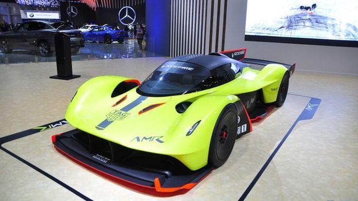 [BIMS2019] แพงที่สุดในงาน 300 ล้านบาท ไฮบริดไฮเปอร์คาร์ Aston Martin VALKYRIE AMR Pro 1,100 แรงม้า