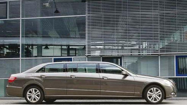 BINZ จัดให้! Mercedes-Benz E-Class ขยายตัวถัง แปลงเป็นลีมูซีนสุดหรู 7 ที่นั่ง