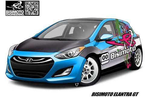 Bisimoto Engineering รีดแรงม้า 600 ตัวใต้ฝากระโปรง Hyundai Elantra GT