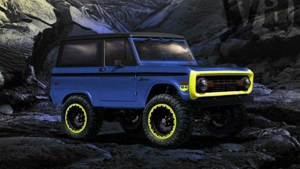 อย่างเฟี้ยว Ford Bronco ตัวโหดพลัง 450 แรงม้า ที่มาพร้อมครอสตูมน้ำมันหล่อลื่น WD-40