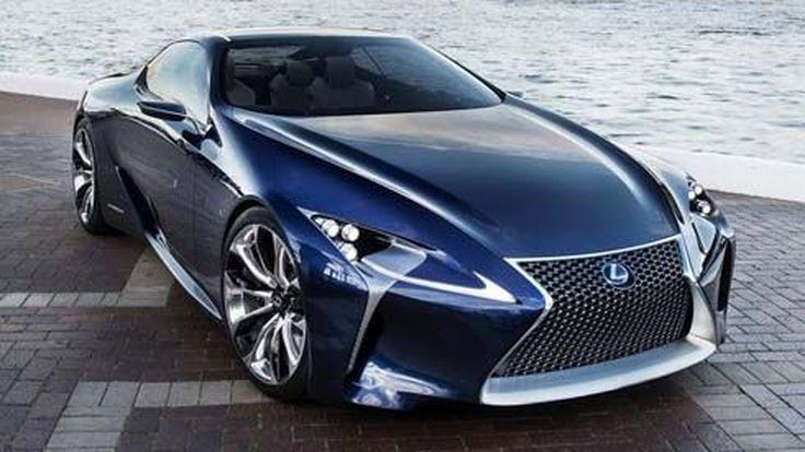Blue Lexus LF-LC Concept คูเป้สีน้ำเงินเข้ม พร้อมโชว์ตัวที่ออสเตรเลีย