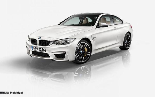 """หล่ออีกขั้น BMW อวดเวอร์ชั่น """"Individual"""" สำหรับ 2014 M3 Sedan และ M4 Coupe"""