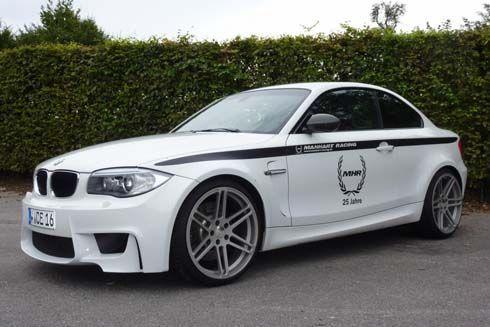 รถแต่ง BMW 1-Series M Coupe จาก 335 สู่ 414 แรงม้า โดย Manhart Racing