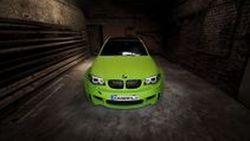 เขียวได้อีก BMW 1-Series M Coupe แต่งสะดุดตาโดยสำนัก Schwabenfolia