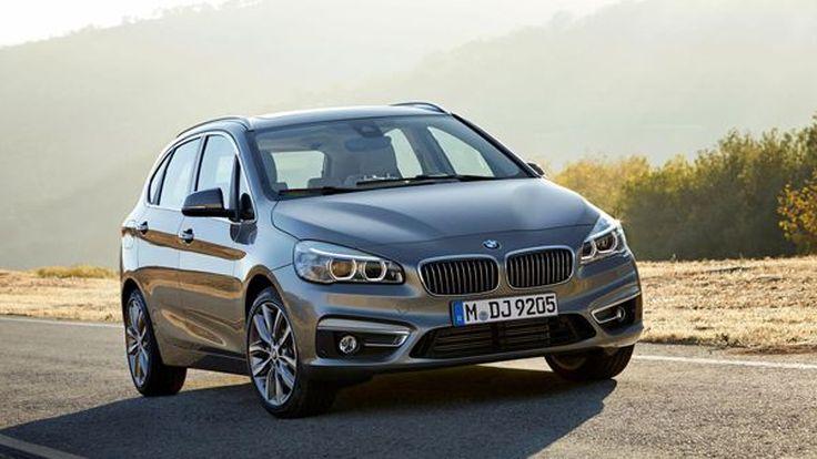 เปิดตัว BMW 2-Series Active Tourer แฮทช์แบ็กขับหน้ารุ่นแรก