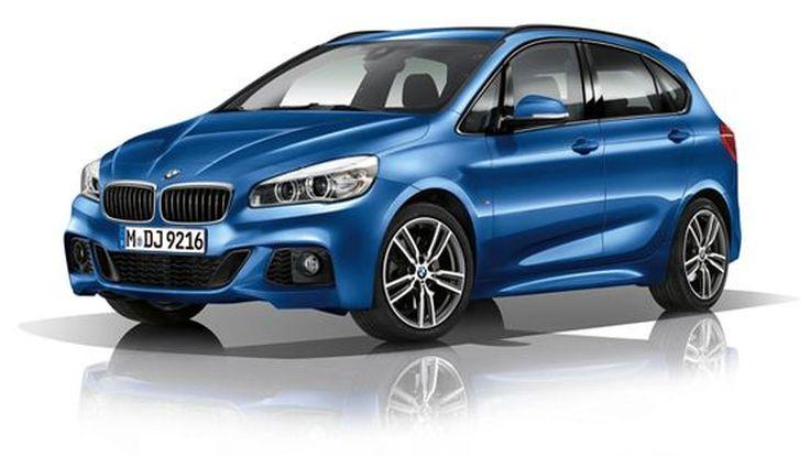 BMW 2-Series Active Tourer M Sport เผยโฉมแบบเงียบๆ