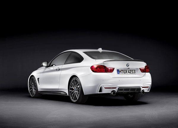 BMW 4-Series Coupe พร้อมชุดแต่ง M Performance เตรียมอวดโฉมตัวจริงเดือนหน้า