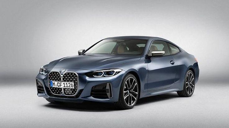 BMW 4 SERIES COUPE 2020   กระจังหน้าไตคู่ เด่นมาก