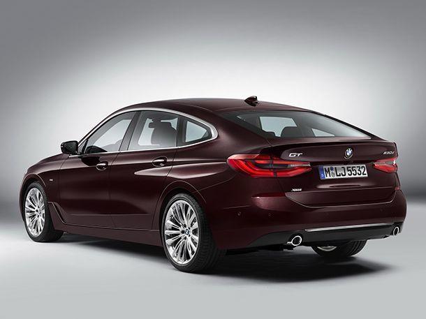 ภาพทางการ BMW 6-Series GT สวยทันสมัยขึ้นชัดเจน