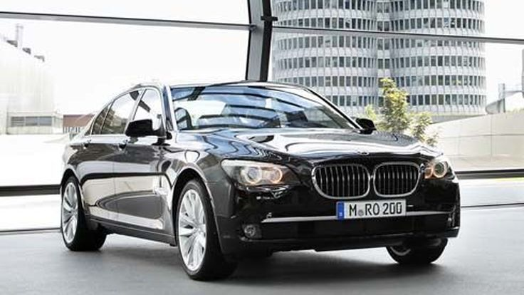 BMW 760Li ลิมูซีนรุ่นพิเศษโดย BMW Individual สำหรับ The Charles Hotel