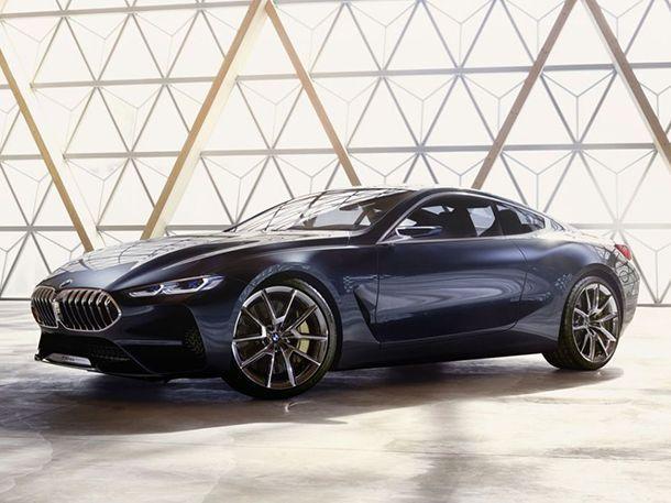 หลุดก่อนเปิดตัว BMW 8-Series Concept รถต้นแบบน่าจับตามอง