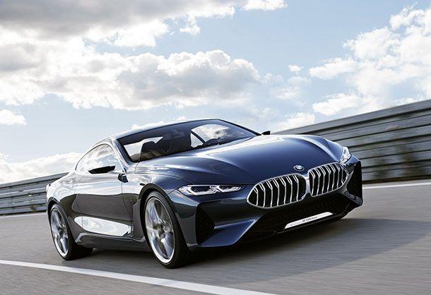 เผยโฉม BMW 8-Series Concept รถต้นแบบสุดงามหัวจรดท้าย
