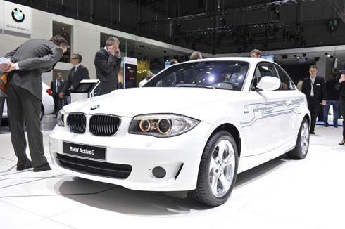 BMW ActiveE รถไฟฟ้าพัฒนามาจาก MINI E ใช้พื้นฐาน Series 1 Coupe เผยโฉมที่เจนีวา