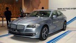 BMW เปิดตัว ActiveHybrid 5 ซีดานไฮบริด 340 แรงม้า ที่งาน Tokyo Motor Show