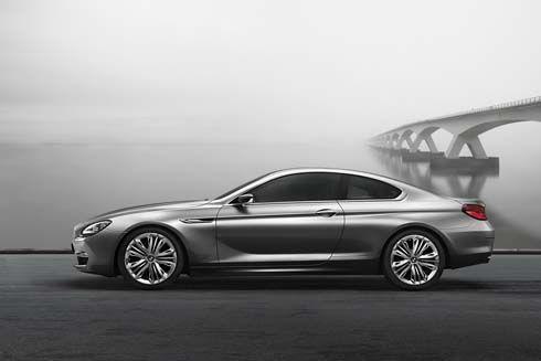 BMW Concept 6 Series Coupé ดีไซน์ด้วยเส้นสายใหม่ ฉีกสไตล์เดิมๆ เผยโฉมก่อนเปิตตัวที่ปารีส