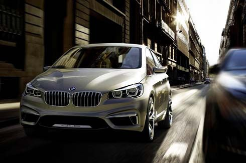BMW Concept Active Tourer คอมแพกท์เอ็มพีวีไฮบริด เผยโฉมอย่างเป็นทางการ