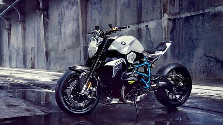 BMW Concept Roadster มอเตอร์ไซค์ต้นแบบหัวใจบ็อกเซอร์ 123 แรงม้า