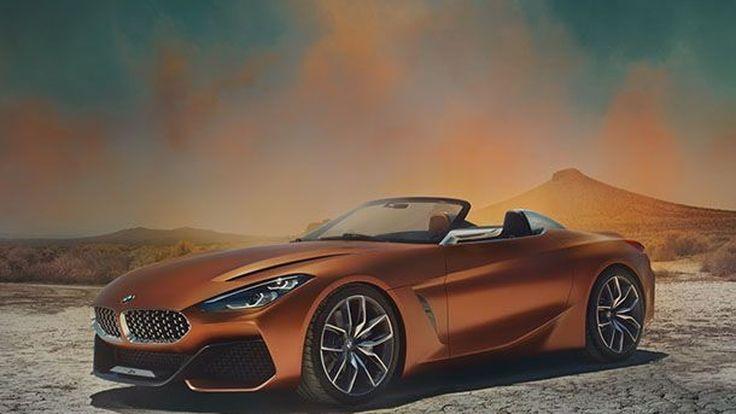 BMW เผยโฉม Concept Z4 รถสปอร์ตต้นแบบสวยกระชากใจ