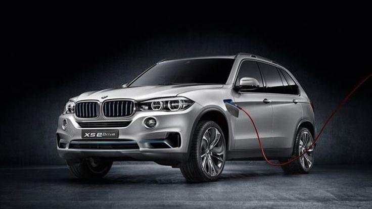 BMW Concept X5 eDrive รถต้นแบบว่าที่ X5 เวอร์ชั่นปลั๊กอินไฮบริด