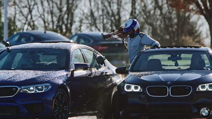BMW ทวงคืนสถิติดริฟท์ต่อเนื่องยาวนานที่สุดในโลกด้วย M5