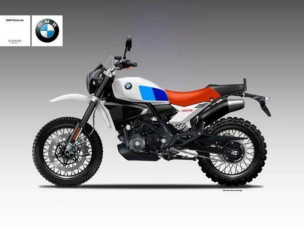 BMW G310R Classic GS Concept อีกหนึ่งความเป็นไปได้จากน้องเล็กสูบเดียว