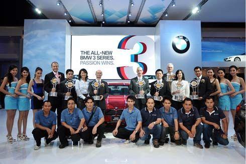 BMW Group ประเทศไทย คว้า 8 รางวัลรถยนต์ยอดเยี่ยมแห่งปี 2012 ที่งานมอเตอร์โชว์