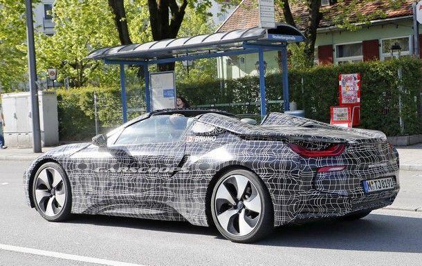 BMW i8 รุ่นใหม่ จะมาพร้อมสมรรถนะสูงขึ้นสู่แรงม้าระดับ 420 แรงม้า พร้อมเวอร์ชั่นเปิดประทุน