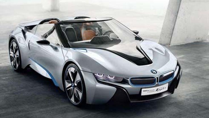 เผยโฉมแล้ว BMW i8 Concept Spyder รถสปอร์ตเปิดประทุนขนาด 349 แรงม้า