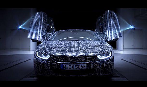 BMW เผยทีเซอร์ i8 Roadster รุ่นโปรดักชั่นครั้งแรก