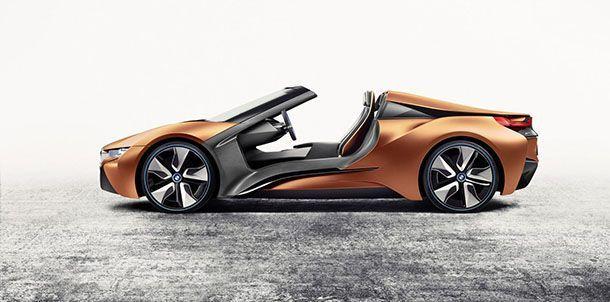 ได้ยลโฉมชัวร์ BMW i8 Roadster จ่อเปิดตัวที่แอลเอ ออโต้โชว์