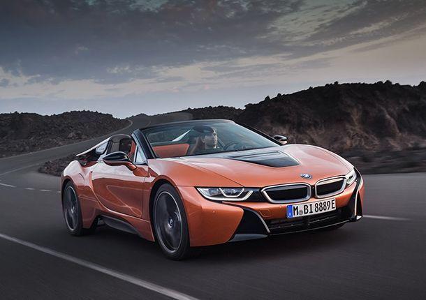 หล่อจริงๆ BMW เปิดตัว i8 Roadster รถสปอร์ตไฮบริดเปิดหลังคา