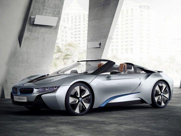 BMW i8 Roadster จะมาพร้อมแรงม้าที่มากกว่ารุ่นปรกติ พร้อมน้ำหนักตัวถังที่เบาลง