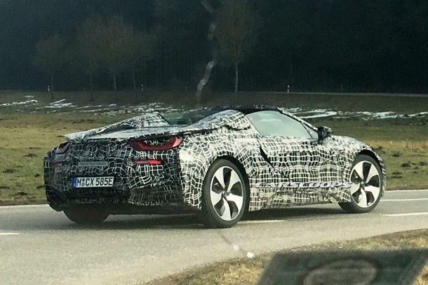 อาจได้พบกันเร็วๆ นี้ BMW i8 Spyder สปอร์ตไฮบริด เปิดประทุน กับการอัพเกรดใหม่ทั้งคัน