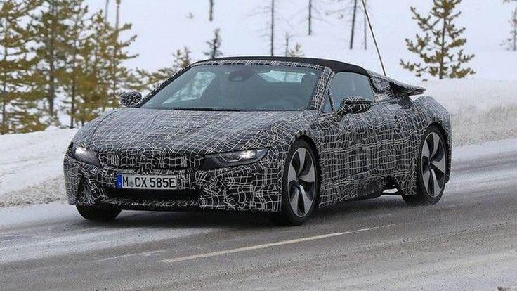 [Spy Shots] BMW i8 Spyder กับการวิ่งทดสอบครั้งแรกใน สวีเดน
