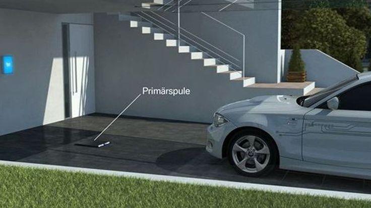 BMW จับมือ Daimler พัฒนาระบบชาร์จไฟฟ้าแบบไร้สาย
