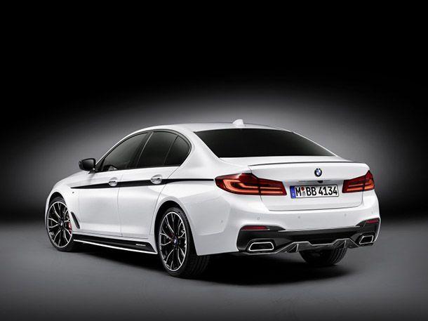 BMW คลอดชุดแต่ง M Performance สำหรับ 5-Series ใหม่